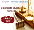 LLB Distance Education Admission, Fee Structure