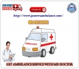 Choose Highly Advanced ICU Facility in Road Ambulance from G