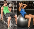 Sedate Ball Sit Up- A Great tool to tone and sculpt your Ab