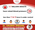 Adult should take care about their Blood Pressure