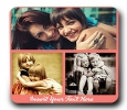 3 Photo Collage Personalised Magnet