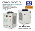 S&A air cooled water chiller of 3KW cooling capacity