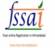 Fssai online registration in Ahmedabad