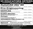 3D EDUCATORS Offer Best Engineering Courses