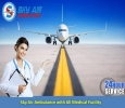 Take ICU Enabled Air Ambulance in Dimapur with Physician