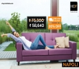 Buy HOF Premium Sofa Set Napoli Online & Get 20% off Discoun