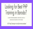 PHP Training Courses in Baroda