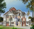 Kerala Traditional House Plans With Courtyard, Call:+91 7975