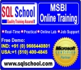 PRACTICAL SQL Server 2014 & R2 DBA ONLINE TRAINING