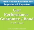 Performance Bond / Guarantee for Suppliers & Contractors