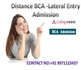 Distance BCA - Lateral Entry Admission: Top Universities For