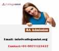 BA Distance Learning Admissions 2019|Fee Structure