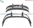 Volvo PV 544 Euro bumper stainless steel