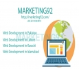 Marketing92: Top Services of Web development in Pakistan