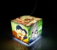 Personalised Cubelit Mini Photo Table Lamp