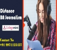 BA Journalism Distance/Correspondence in india |Fee Structur
