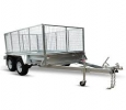 10x6 Dual Axle Galvanised Extreme Heavy Duty Cage Trailer Ho