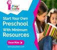 Low investment preschool/play school franchise in India