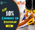 Flat 10% Cashback on Footwear