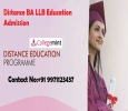 Distance BA LLB Education Admission, Fee Structure Eligibili