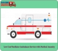 Elect Hi-Class Medical Support in Road Ambulance from Bhagal