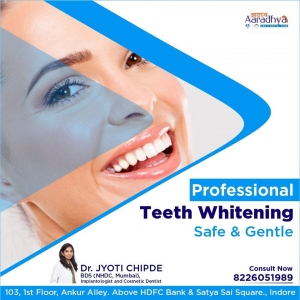Smile makeover treatment available in Indore | Dental Implan