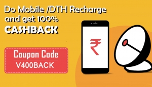 Get 100% cash back with Mobile and Dth recharge App |  Bill
