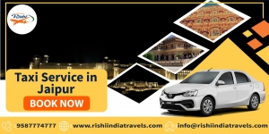 Taxi Service In Jaipur- Rishi India Travels