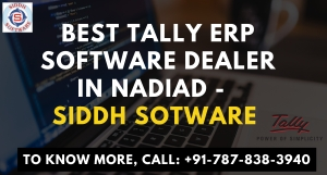 Tally ERP Software Dealer in Nadiad - Siddh Software