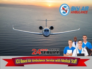 Book the Latest ICU Setup Air Ambulance Service in Imphal
