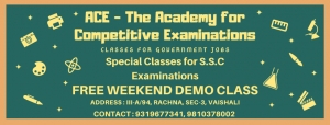 ACE - The Academy for Competitive Examinations