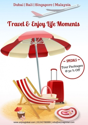 Book Best Tour Packages & Get 30 % Off | Anjna Global