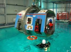 STCW FRC FRB HDA HUET Helicopter Underwater Escape Training