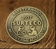 Custom Challenge Coins | Safety Award Cheap Challenge Coins