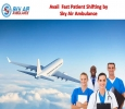 Take Fast Patient Shifting from Dibrugarh by Sky Air Ambulan