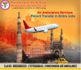 Get ICU Air Ambulance from Gwalior with Support of MD and MB