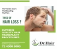 Best hair fall specialist in Jaipur by Dr. Hair India