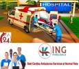 Urgently Get Modern ALS Ventilator Ambulance in Ranchi