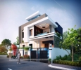 Outstanding Modern Bungalow 3D Rendering By 3D Power.