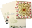 Floral Theme Wedding Cards