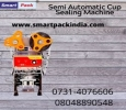 Cup Sealing Machine for Juice Packing In Sikar