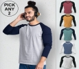 Buy New Basic Full Sleeve T shirts For Men Online In India