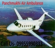 Low Budget Air Ambulance from Gorakhpur by Panchmukhi