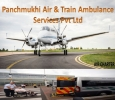 Lung Infection Patient Shifting by Panchmukhi Air Ambulance