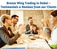 Bronze Wing Trading –Our Clients Reviews