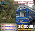 Falcon Train Ambulance in Ranchi � Available 365 Days