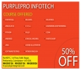50% off for all software courses in PurplePro Infotech