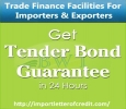 Bid Bond Guarantee / Tender Bond for Suppliers & Contractors