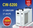 Recirculating Water Chiller CW5200 for 130W co2 laser