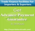 Get Advance Payment Guarantee from Us